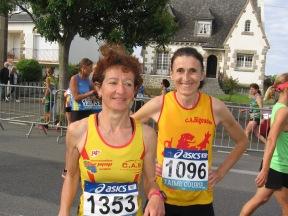 Marie Louise Tanneau et Véronique Marsollier