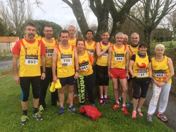 Groupe Semi-marathon La Rochelle 19-03-17