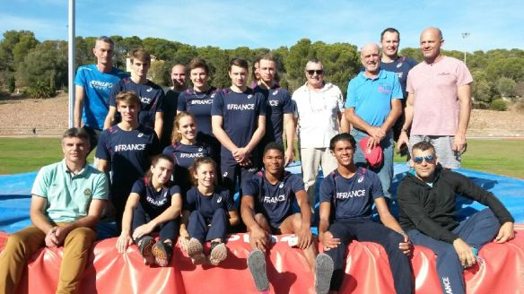 Stage Equipes de France cadets